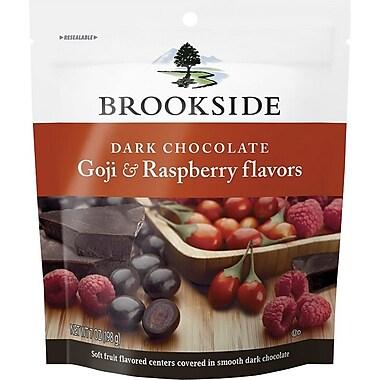 Brookside Dark Chocolate Goji & Raspberry Flavors Pouch, 7 oz., 12/Case