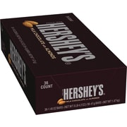 Hershey's Milk Chocolate with Almonds Bar, 1.45 oz., 36/Box