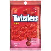 Twizzlers Cherry Nibs, 6 oz., 12/Case