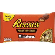 Reese's Peanut Butter Cups Miniatures Bag, 19.75 oz., 24/Case