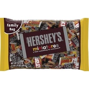 Hershey's Miniatures Assortment Bag, 19.75 oz., 12/Case