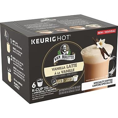 Van Houtte – Godets K-Cup Vanilla Latte de la collection de spécialité