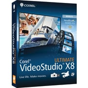 Corel VideoStudio X8 Ultimate for Windows (1 User) [Download]