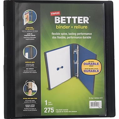 Staples® Better Binder, 1