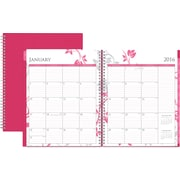 2016 Blue Sky Breast Cancer Awareness Alexandra Weekly/Monthly Planner, 8.5 x 11