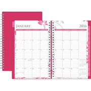 Blue Sky Planner Breast Cancer Awareness Alexandra 5x8 2016 Wkly/Mthly Wire-O
