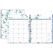 2016 Blue Sky Lindley Frosted Cover Weekly/Monthly Planner, 8.5 x 11