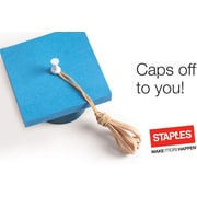 Staples $25 Gift Card Grad Cap (75623B2500)