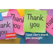 Staples®® Thank You Post It Gift Cards