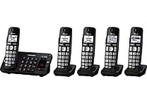 Panasonic 5 Handset Expandable Digital Cordless Answering System