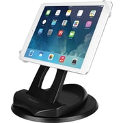 Macally Reclining and Rotating Desk Mount and Hand Grip Holder for iPad and Tablets