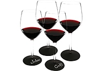 4-Piece 16oz. Chalkable Wine Glass Gift Set