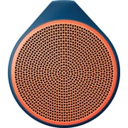 Logitech X100 Mobile Wireless Bluetooth Speaker, Orange (984-000362)