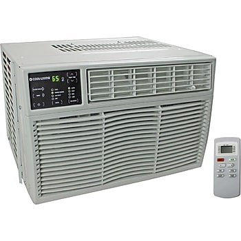Cool living 18 000 btu home office window mount air for 18000 btu window air conditioners