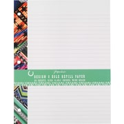 "Paperchase Gaucho Glam, Filler Paper, 11"" x 8-1/2"", 50/pack"
