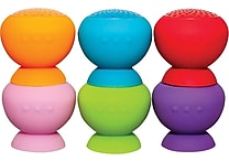 StickUp Water-Resistant Bluetooth Wireless Speaker- 2 Pack, Assorted Colors