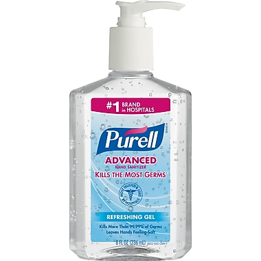 Purell 174 Advanced Hand Sanitizer 8 Oz Staples 174