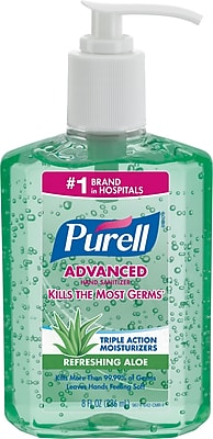 Purell Advanced Hand Sanitizer with Aloe 8 oz.