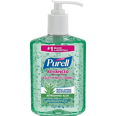 Purell® Advanced Hand Sanitizer with Aloe 8 oz.