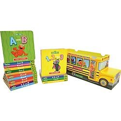 Sesame Street Bus ABC & 123 16 Book Set