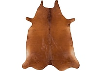 Safavieh Cow Hide Gaucho 4'-6' X 6'-6' Brown