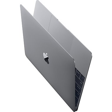 Apple - Macbook (MJY42C/A), écran Retina 12 po, Intel Core M bicœur 1,2 GHz, RAM 8 Go, stockage flash 512 Go, gris, français