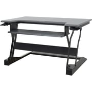 Ergotron 33-397-085 Workfit-T Black Desktop Workstation Stand