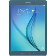 "Samsung SM-T550NZBAXAR 9.7"" Galaxy Tab A, 16GB, Android 5.0 Lollipop, Smokey Blue"