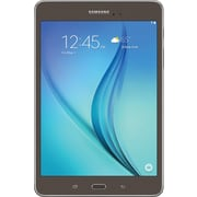 "Refurbished Samsung T350NZAAXAR 8.0"" Galaxy Tab A, 16 GB, Android 5.0, Smokey Titanium"