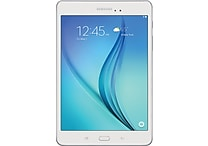 Samsung Galaxy SM-T350NZWAXAR 8 in. Tablet, 16GB, Android 5.0 Lollipop, White