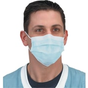 Crosstex Protective Masks, Isofluid, Earloop, Blue