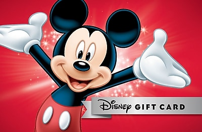 Disney Gift Cards NEW