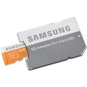 Samsung - Cartes mémoire microSD EVO MicroSDHC UHS-I (48 Mo/sec.) de classe 10 avec adaptateur