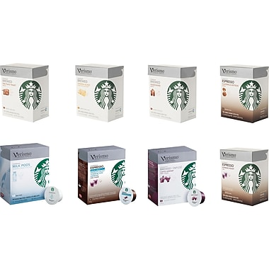 Starbucks® Verismo™ Coffee Pods, 12/Pack, Assorted Flavors
