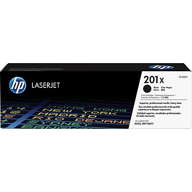 HP 201X (CF400X) Black High Yield Original LaserJet Toner Cartridge