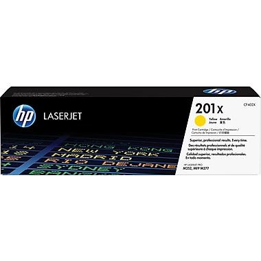 HP 201X (CF402X) Yellow High Yield Original LaserJet Toner Cartridge