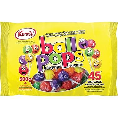 Kerr's Ball Pops Lollypops, 500g
