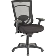 Tempur-Pedic Mesh Computer and Desk Office Chair, Fixed Arms, Black/Black (TP7000-RAV/COAL)