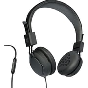 JLab INTRO-BLK-BOX Intro On-Ear Headphones Black