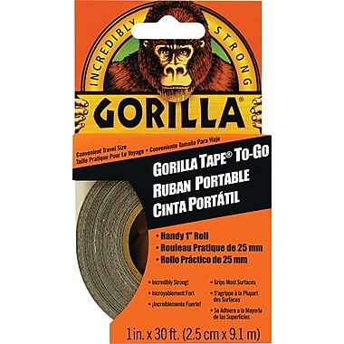 Gorilla Tape To-Go, 30ft