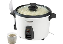 Black & Decker 16 Cup Rice Cooker White