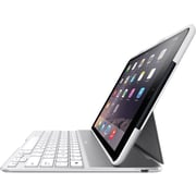 Belkin F5L178TTWHT QODE Ultimate iPad Air 2 Keyboard Case White