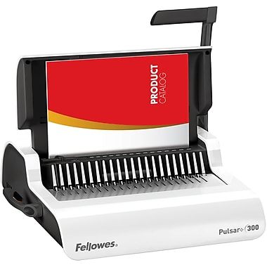 Fellowes® Pulsar+™ Manual Comb Binding Machine