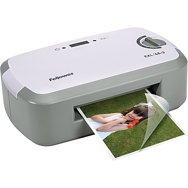 Fellowes EXL 45-3 4.5in. Thermal Laminating Machine