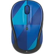 Logitech M325C Wireless Optical Mouse, Ambidextrous, Blue Harlequin (910-004459)