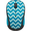 Logitech M325 Wireless Mouse, Teal Chevron
