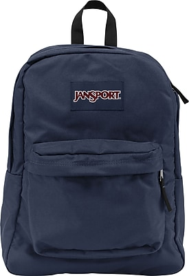 Jansport Superbreak Backpack, Navy