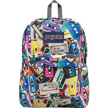 Jansport Superbreak Backpack, Multi- Mixtapes | Staples®