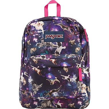 Jansport Superbreak Backpack, Multi Astro Kitty (T50109V) | Staples®