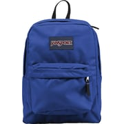 Jansport Superbreak Blue Polyester Backpack (T5015CS)